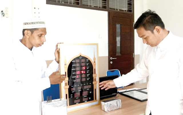 Jaga Kekhusyukan Sholat di Masjid, Mahasiswa UIN-Ar Raniry NAD Ciptakan Islamic Jammer