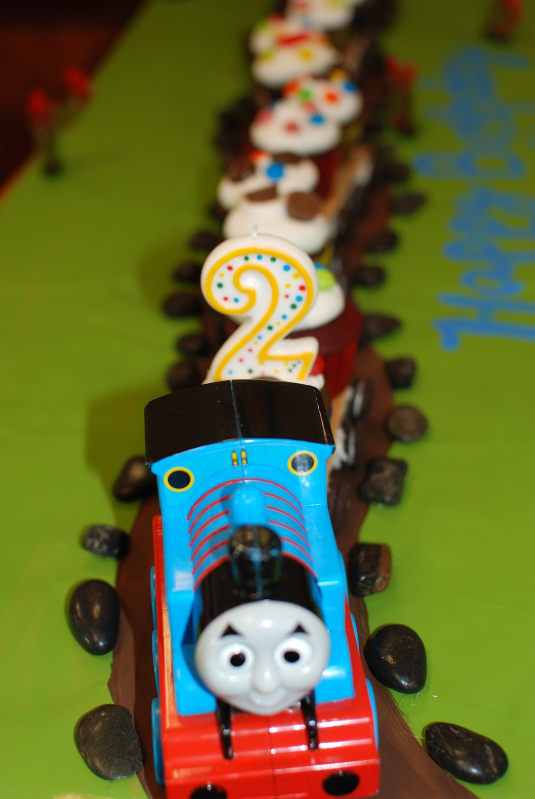Propelled By Love Choo Choo Cupcake Train Coming Thru