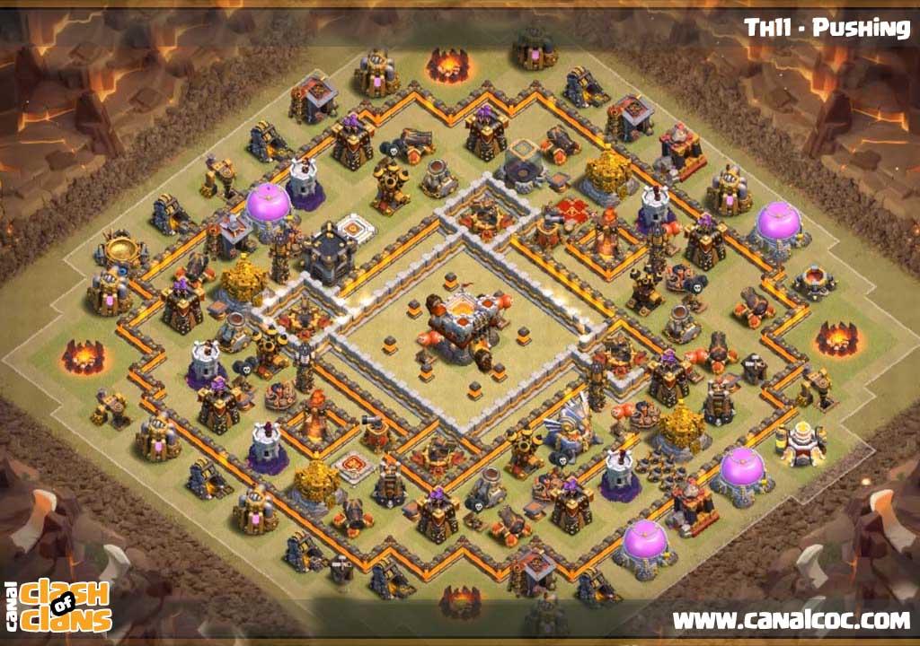 Base War Th 11 Anti 3 Star 11