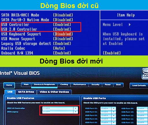 Khóa cổng USB trong Bios - H07