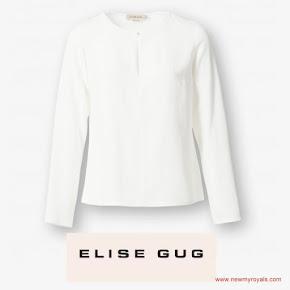 ELISE GUG Blouse Princess Mary Style - Signe Bøgelund-Jensen Skirt