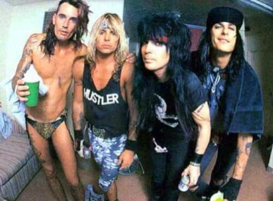 Hustler shirt as worn by Vince Neil Motley Crue