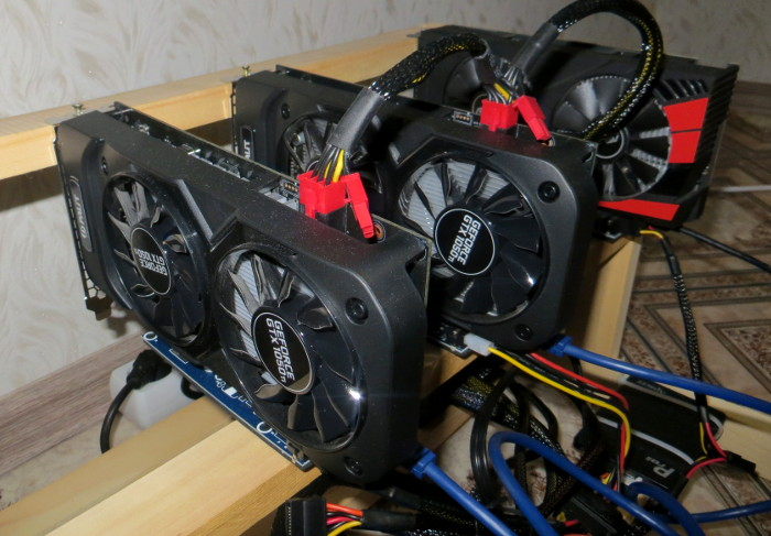 Palit GTX 1050 Ti майнинг