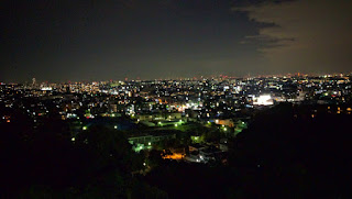 生田配水池 夜景 展望台