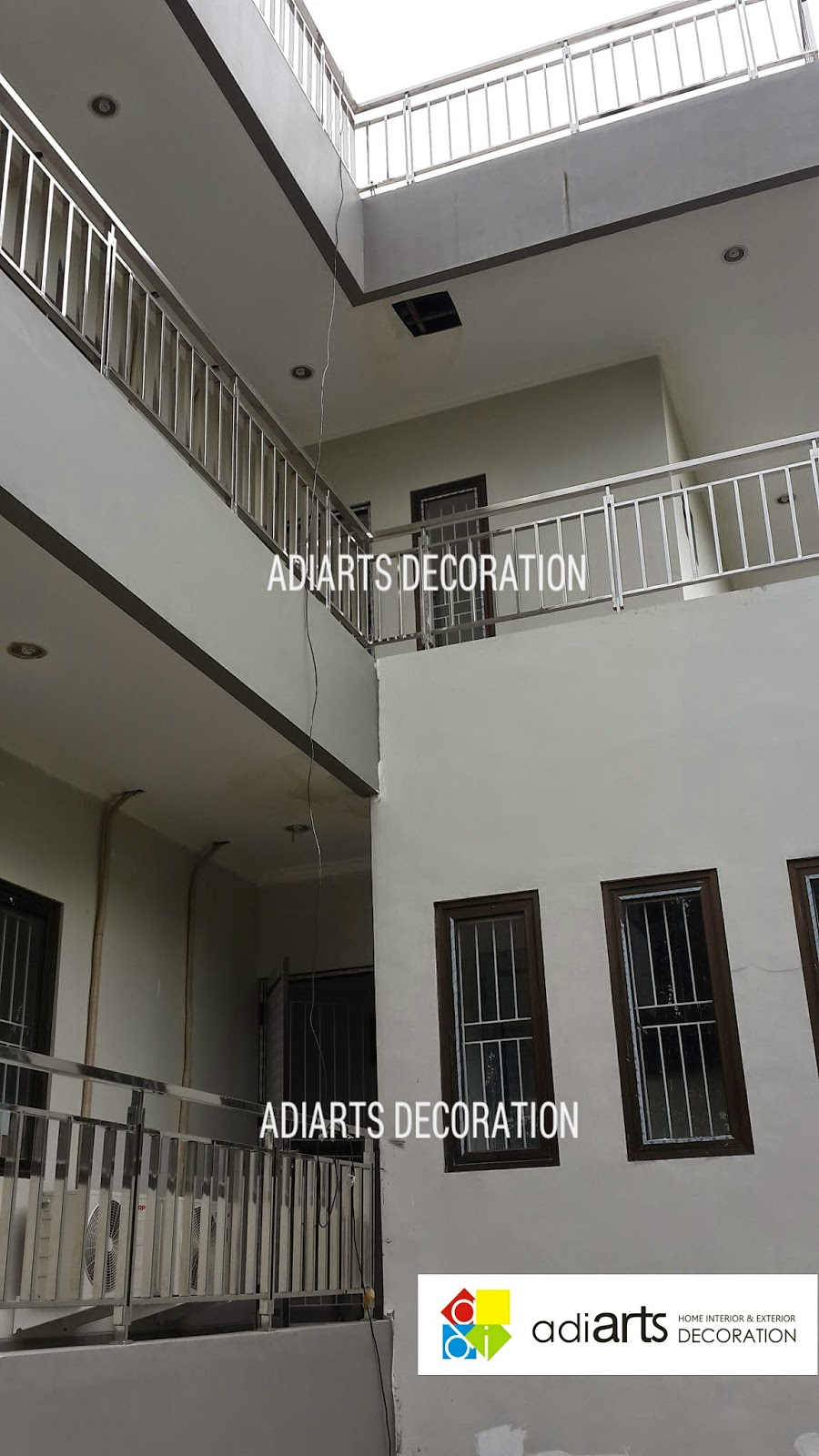 Railing Balkon Stainless Steel 304 Adiarts Decoration Home