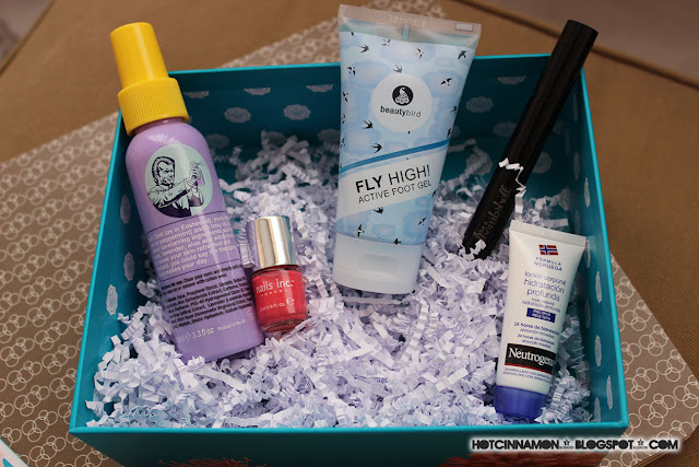july glossy box