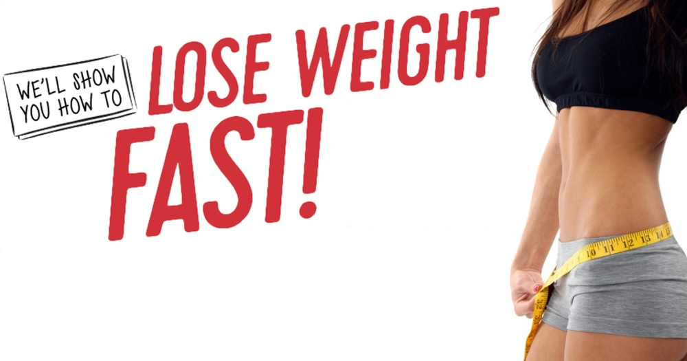 how to lose weight fast - 1000×525