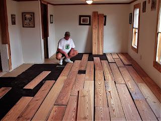 DIY Flooring Installation Reclaimed Wood Flooring
