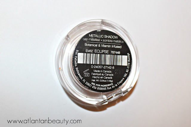 Palladio Beauty Crushed Metallic Eyeshadow in Eclipse