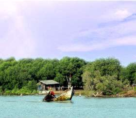 Pulau Cangkir Tangerang