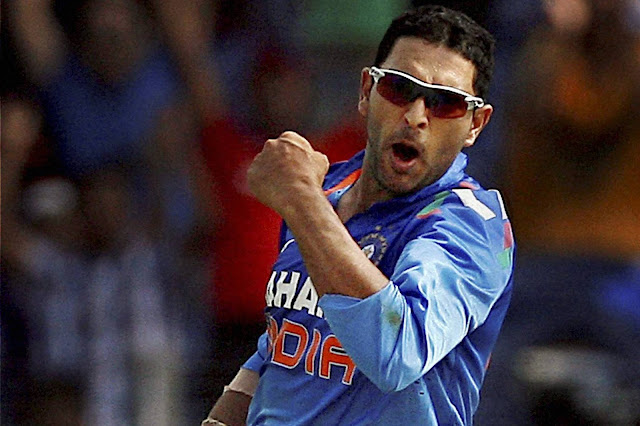 Yuvraj Singh Stock Photos and Pictures