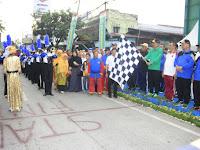 Wali Kota Hadiri Pelepasan Jalan Santai Keluarga Besar Muhammadiyah