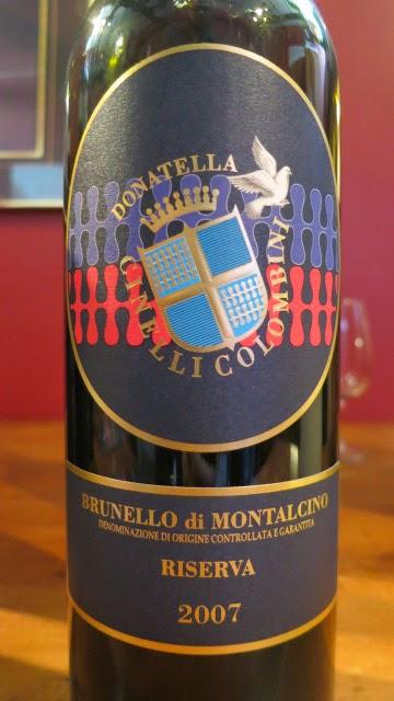 2007 Donatella Cinelli Colombini Brunello di Montalcino Riserva from DOCG, Tuscany, Italy (91 pts)