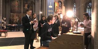 gregoriaans koor