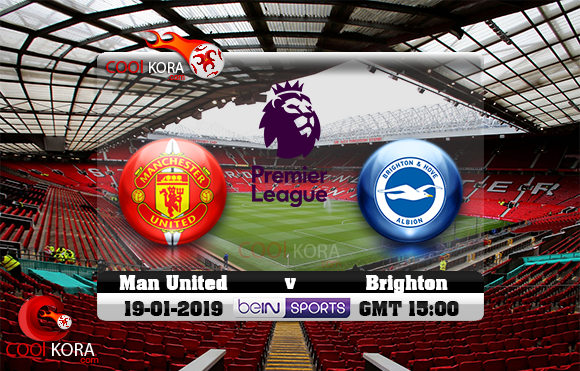 Image result for مشاهدة مباراة مانشستر يونايتد وبرايتون بث مباشر 19-1-2019 الدوري الانجليزي