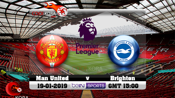 مشاهدة مباراة مانشستر يونايتد وبرايتون بث مباشر 19-1-2019 الدوري الانجليزي