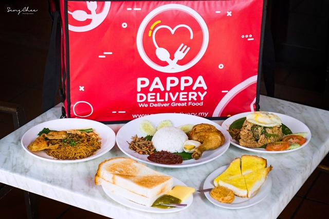PappaDelivery - PappaRich Online Food Delivery Service