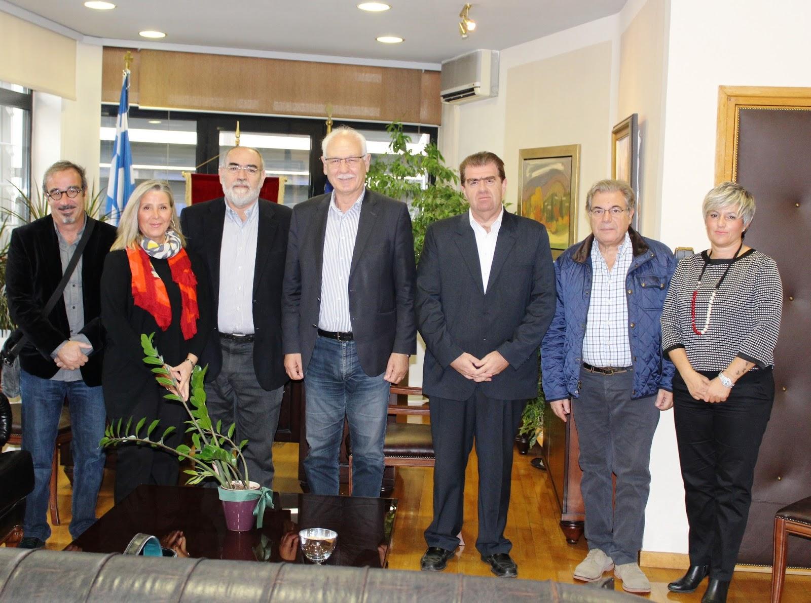 Στον Δήμαρχο το νέο Δ.Σ. της Ισραηλίτικης Κοινότητα Λάρισας