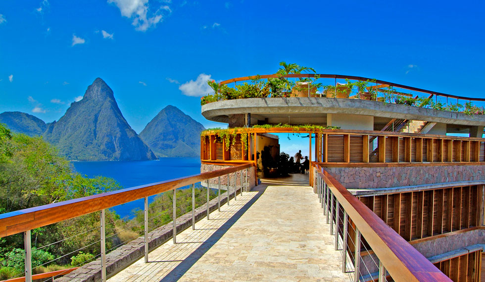 Passion For Luxury : Jade Mountain, St.Lucia