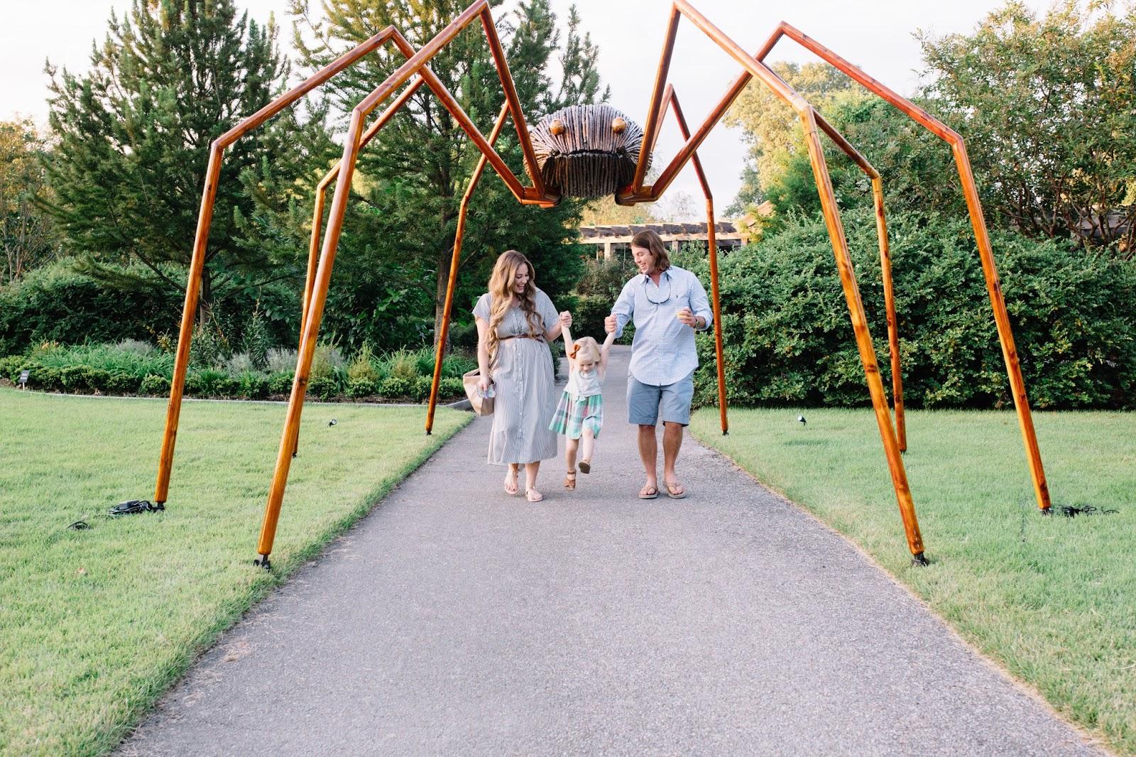 Memphis Botanic Garden Big Bugs by Terminix by East Memphis Mom blogger Walking in Memphis in High Heels