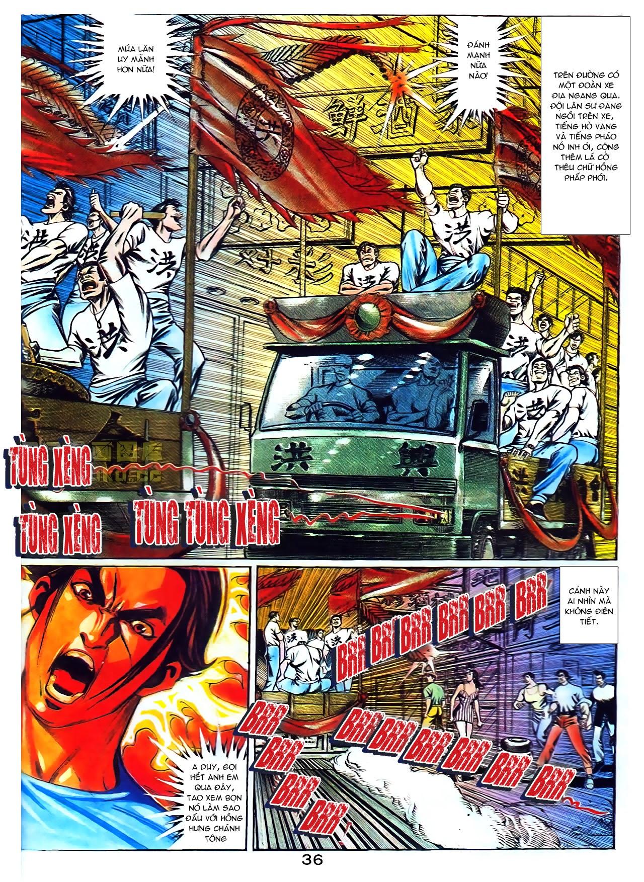 Người Trong Giang Hồ chapter 104: tuổi trẻ máu lửa trang 15