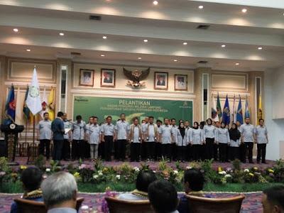 BPW Perhimpunan Sarjana Pertanian Indonesia (PISPI) Lampung Dilantik