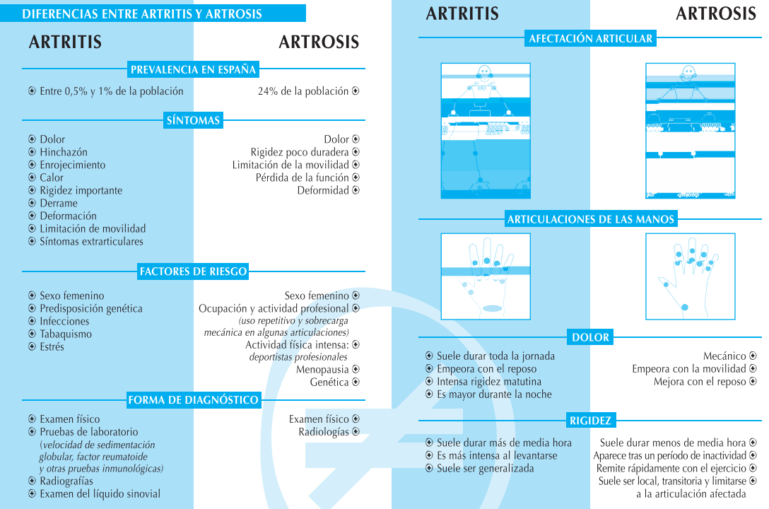 Artritis qu es y c mo tratarla nutrici n a las 6 - Alimentos para mejorar la artrosis ...