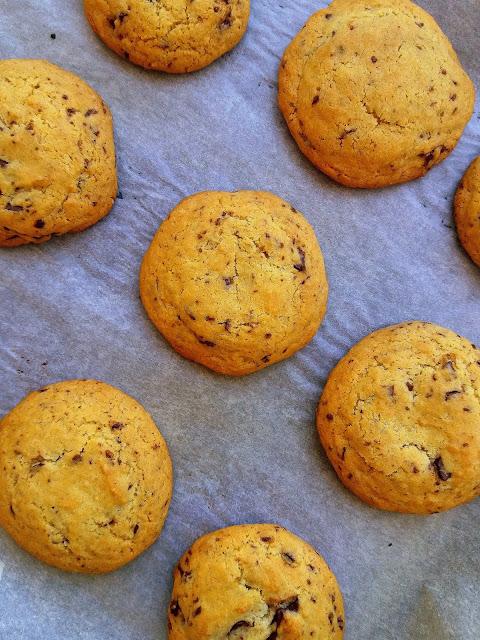 Amerykańskie ciasteczka z czekoladą / Chocolate Chip Cookies