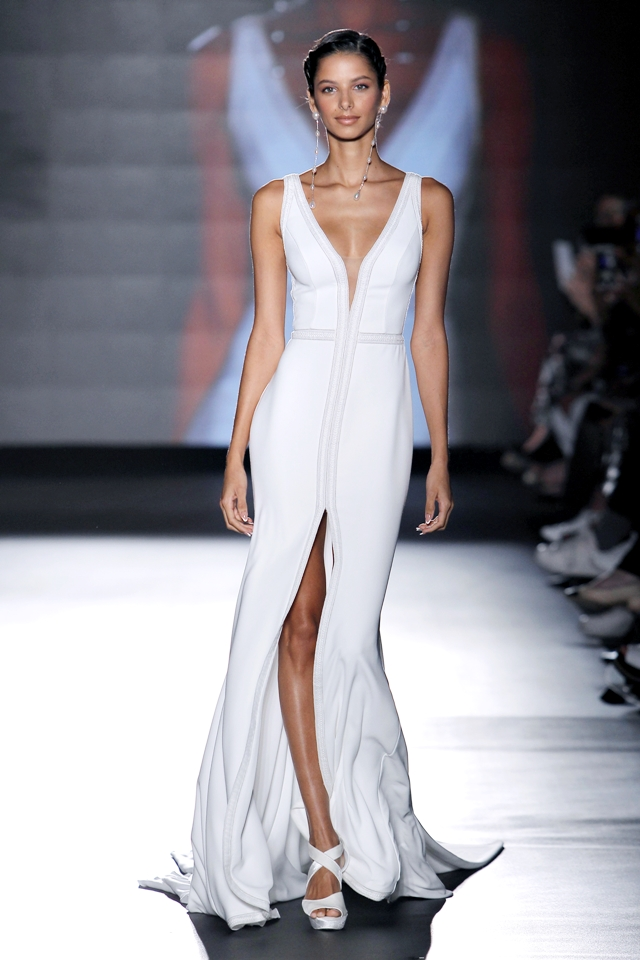 rosa clara colección 2019 - barcelona bridal fashion week