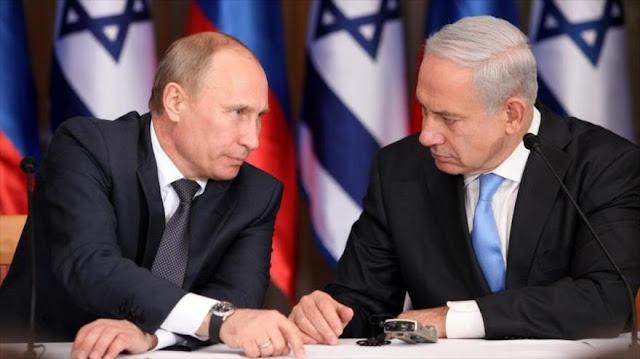 Netanyahu expresa temor a confrontación aérea con Rusia en Siria