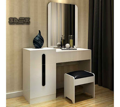 Latest modern dressing table designs for small bedroom interiors 2019