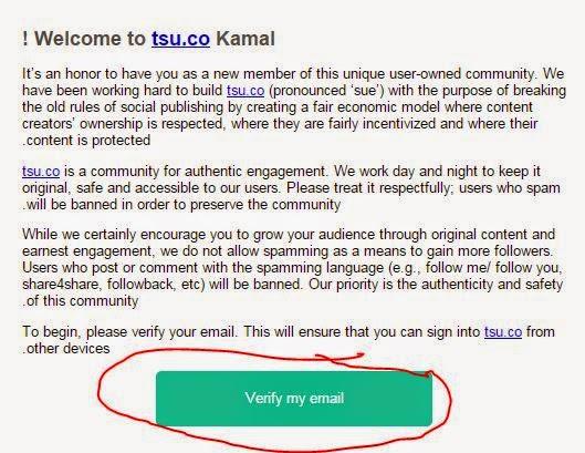 TSU.com تسجيل في