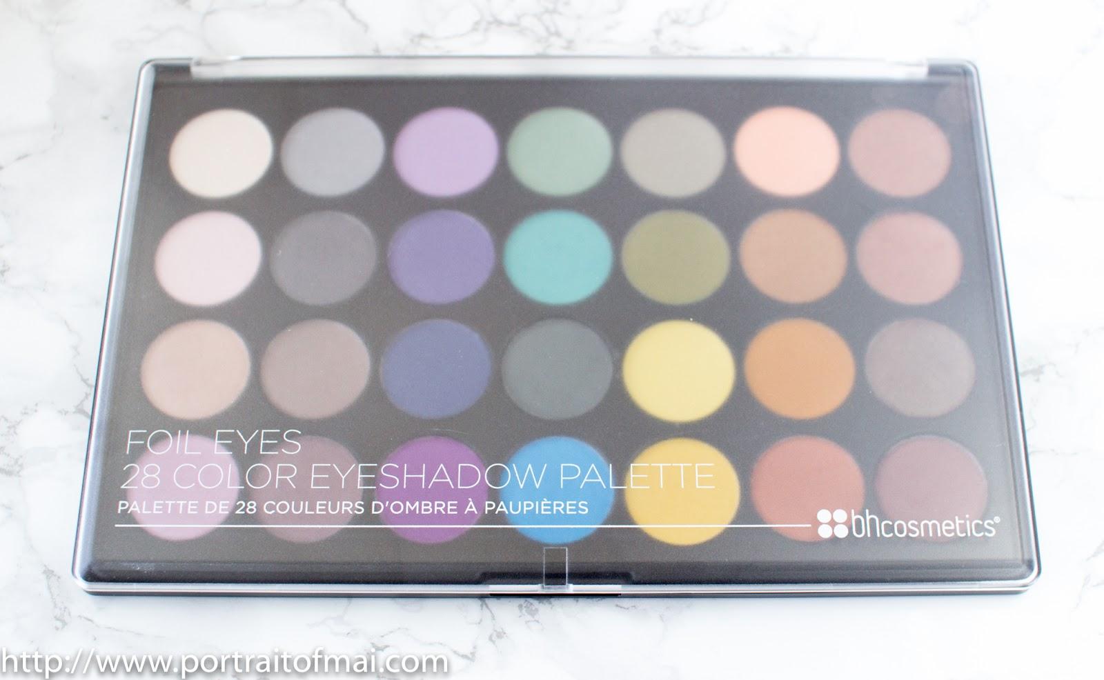 BH Foil Eyes vs. Makeup Geek Foiled Eyeshadows