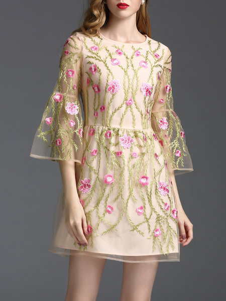 https://www.stylewe.com/product/apricot-crew-neck-frill-sleeve-embroidered-mini-dress-70121.html