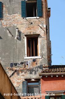 Wäscheleine in Venedig, Foto von unabhängiger Stampin' Up! Demonstratorin in Coburg