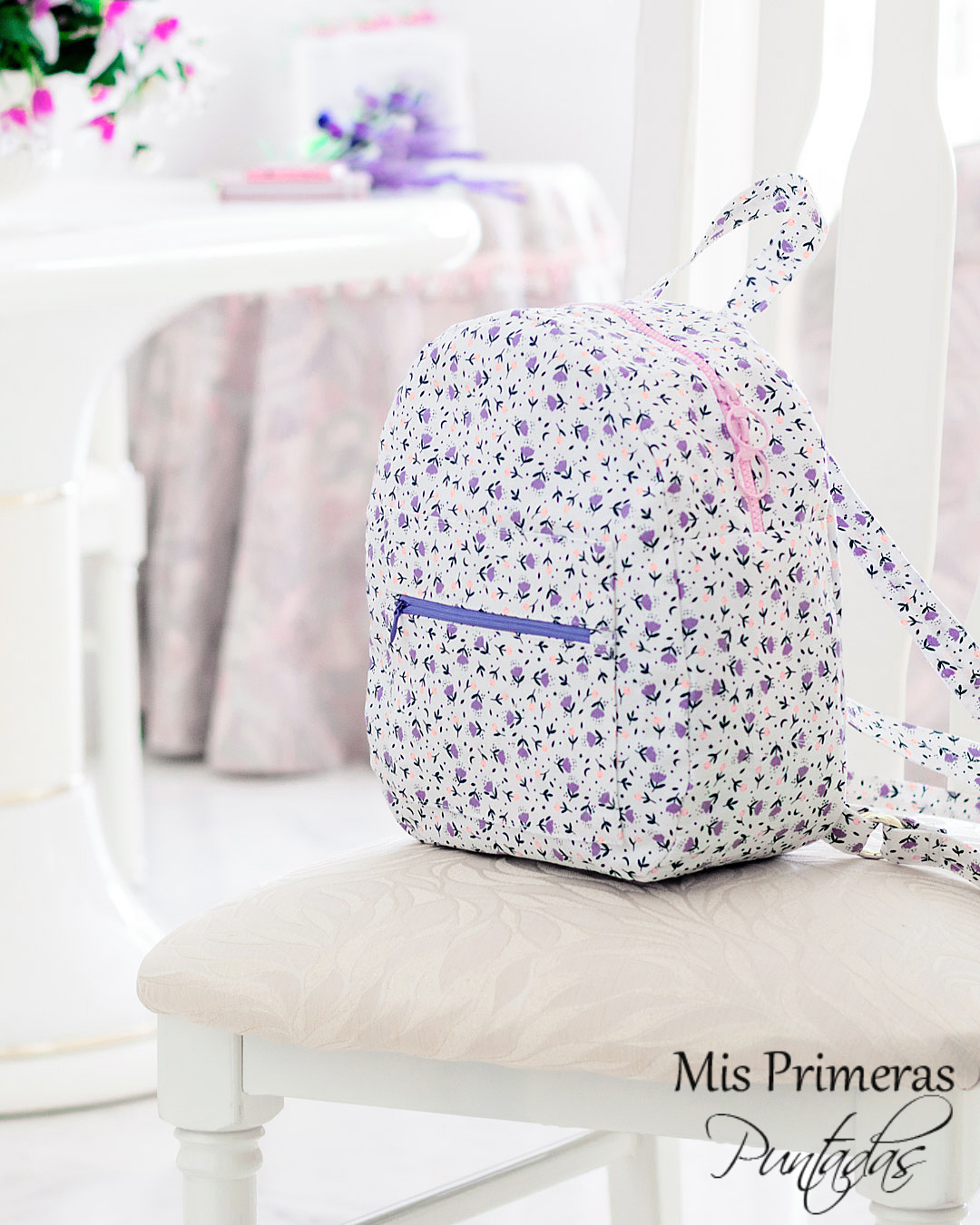 Mis Primeras Puntadas - Blog de Costura: Mochila Katia Fabrics