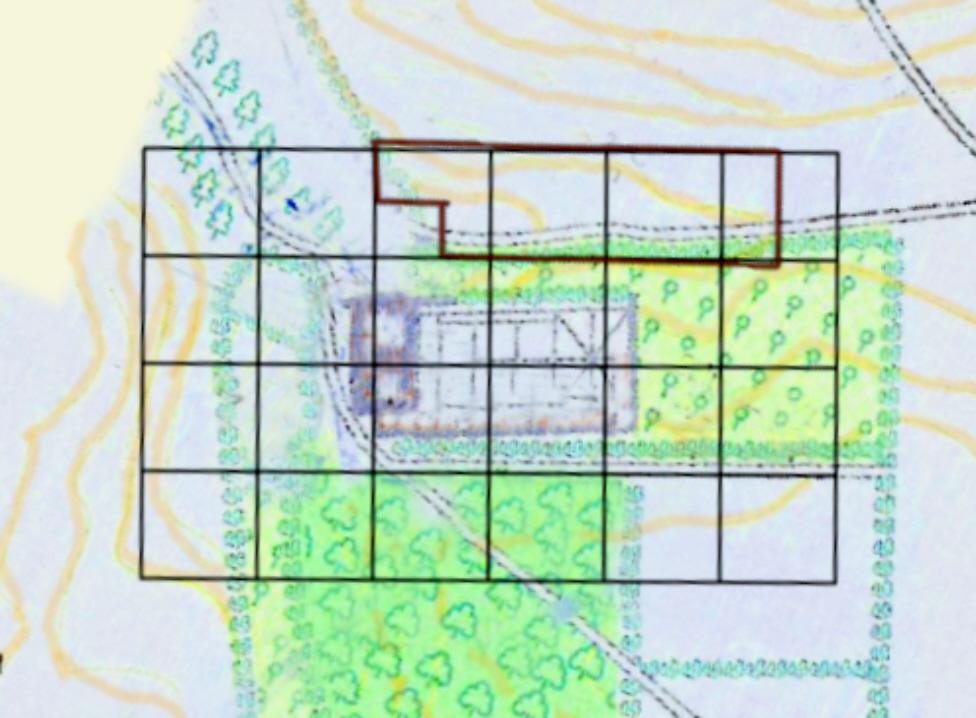 Hougoumont Waterloo Map