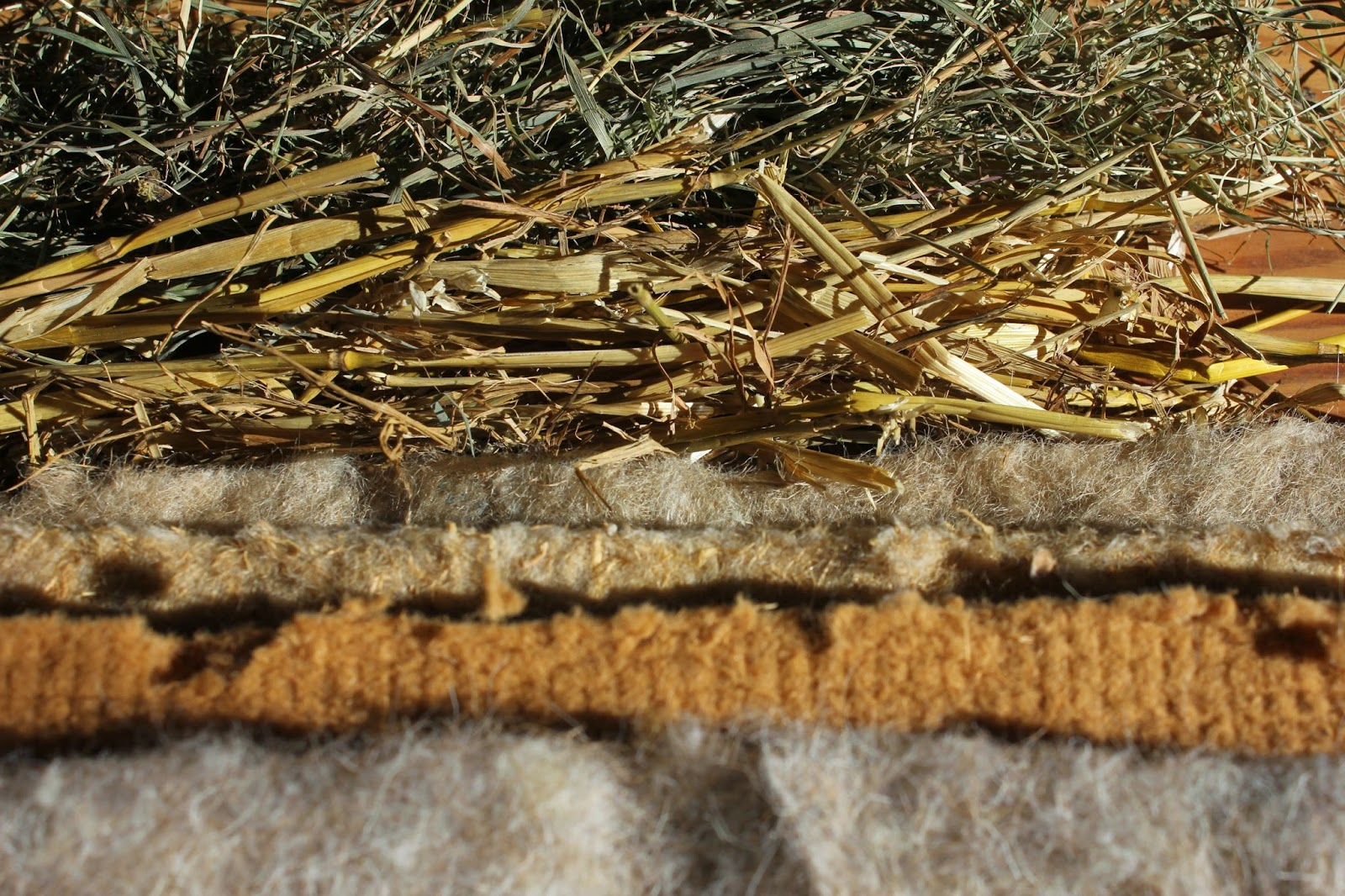Ecological organic insulation materials