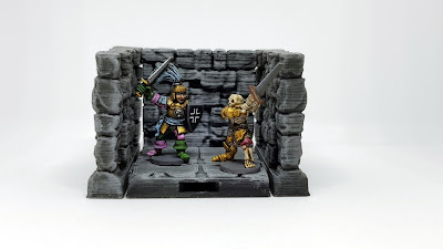 15mm 3D Printed Dungeon