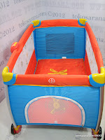 4 Crater 197 Musical Melodies Baby Rocking Playard