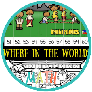 around the world kindergarten math puzzles