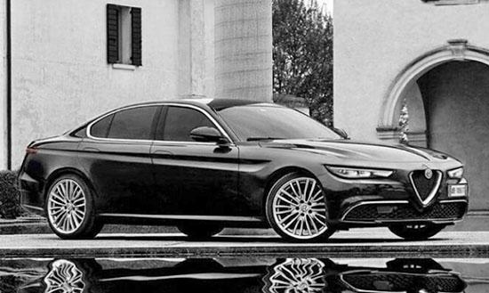 burlappcar 2018 19 alfa romeo mid size sedan. Black Bedroom Furniture Sets. Home Design Ideas