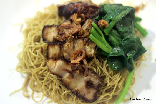 The Food Canon - Inspiring Home Cooks: Hong Kong Noodles with Char Siew