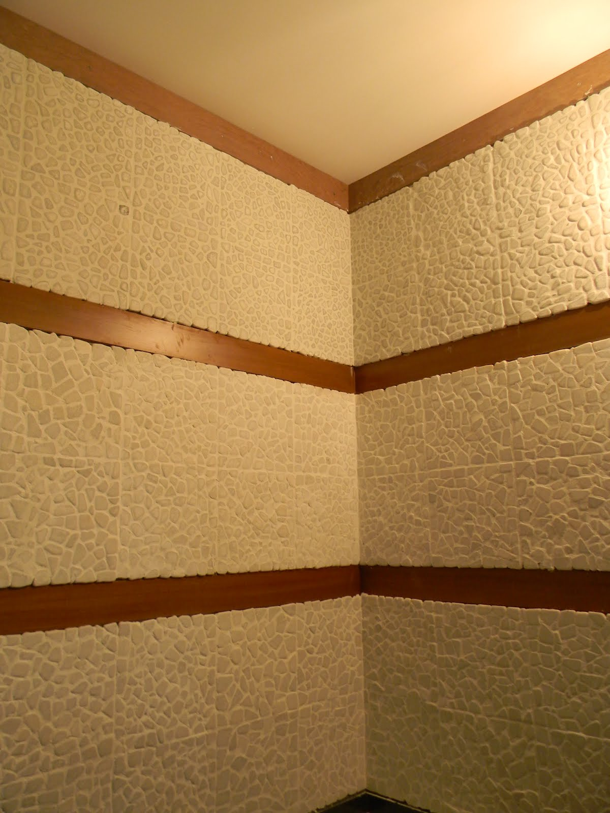 Ram Smrithi Wall Tiles In Amma S Unit Pooja Room