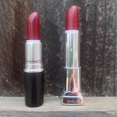 MAC Diva Maybelline Divine Wine