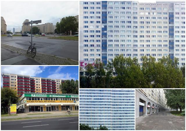 edificios estilo soviético en Berlín
