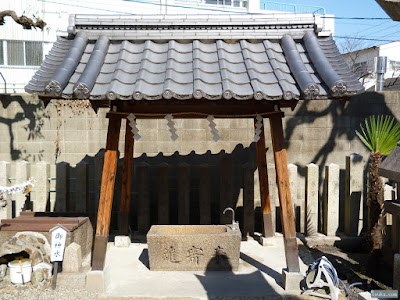野江水神社手水舎