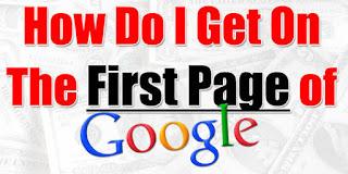 Cara Gw Agar Blog Tampil Di Halaman Pertama Google