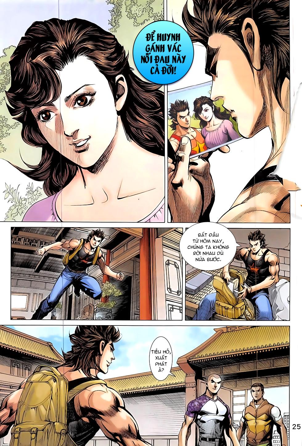Đông Phương Chân Long chap 66 - Trang 25