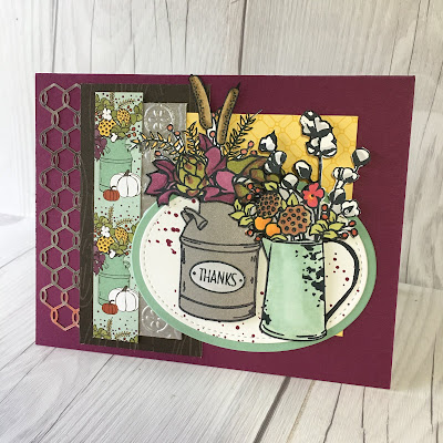 Wendy McGrath's Country Home swap card
